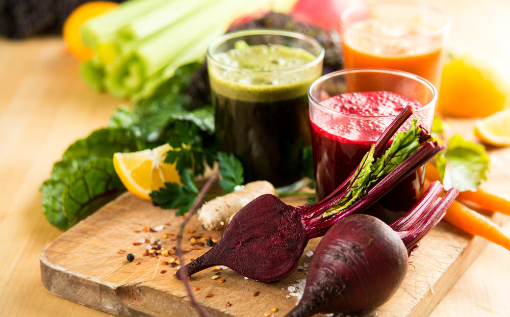 vegetable juice to help you lose weight