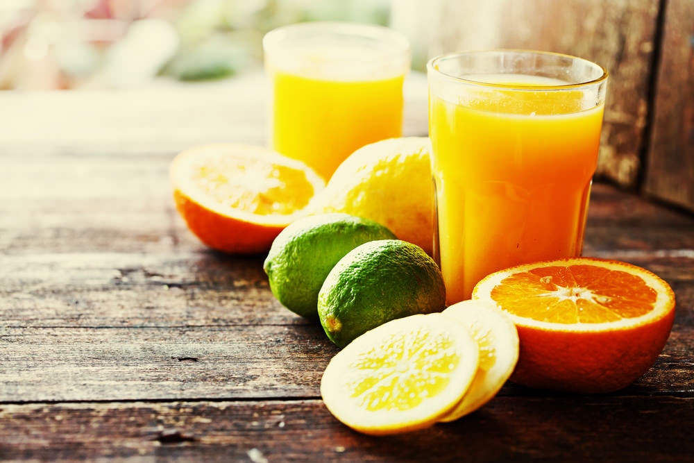 fruit juice to lose weight