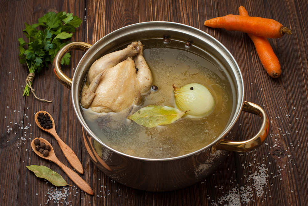 Broth for natural weight loss