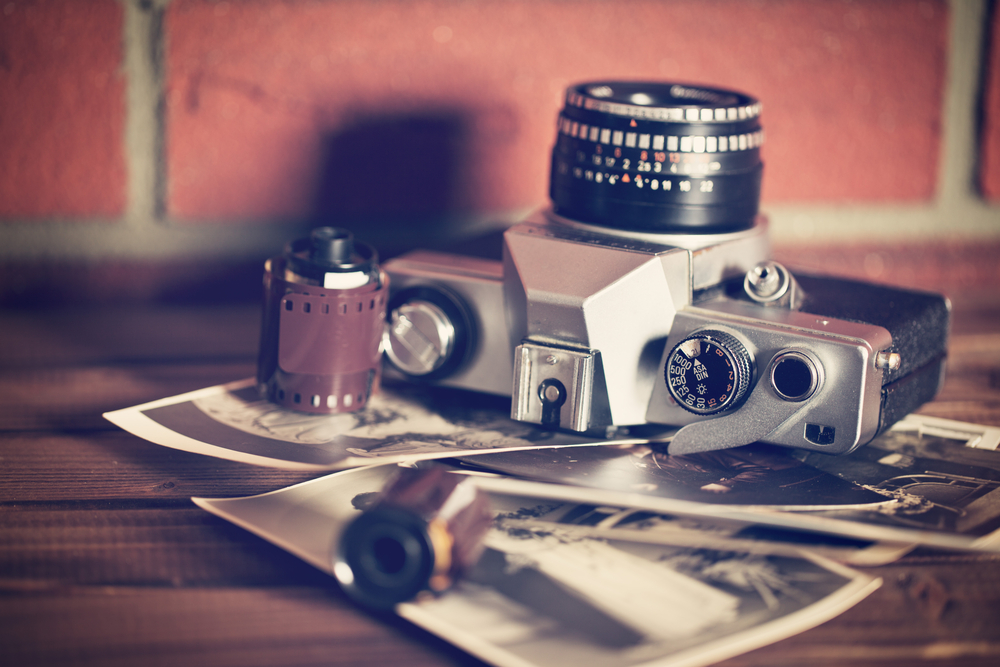 Analogue Camera, film, photographs