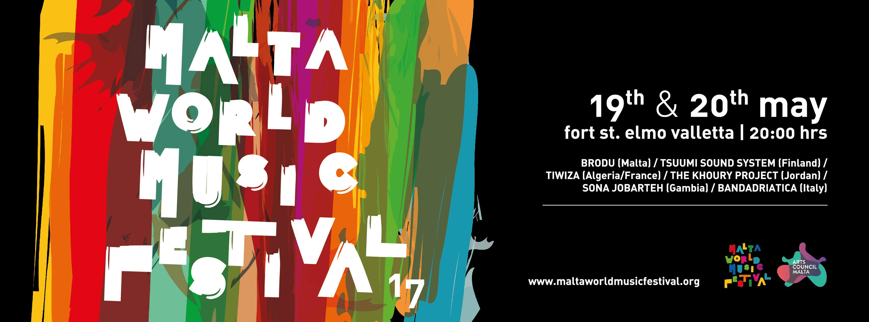Malta World Music Festival, 2017