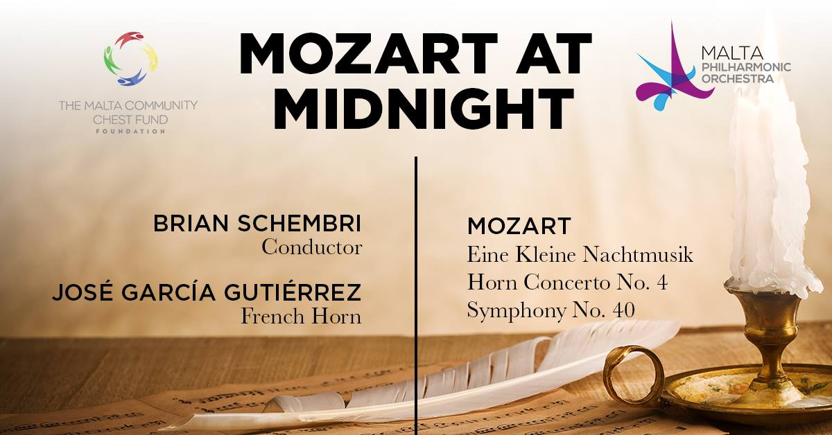 Mozart at Midnight, Malta