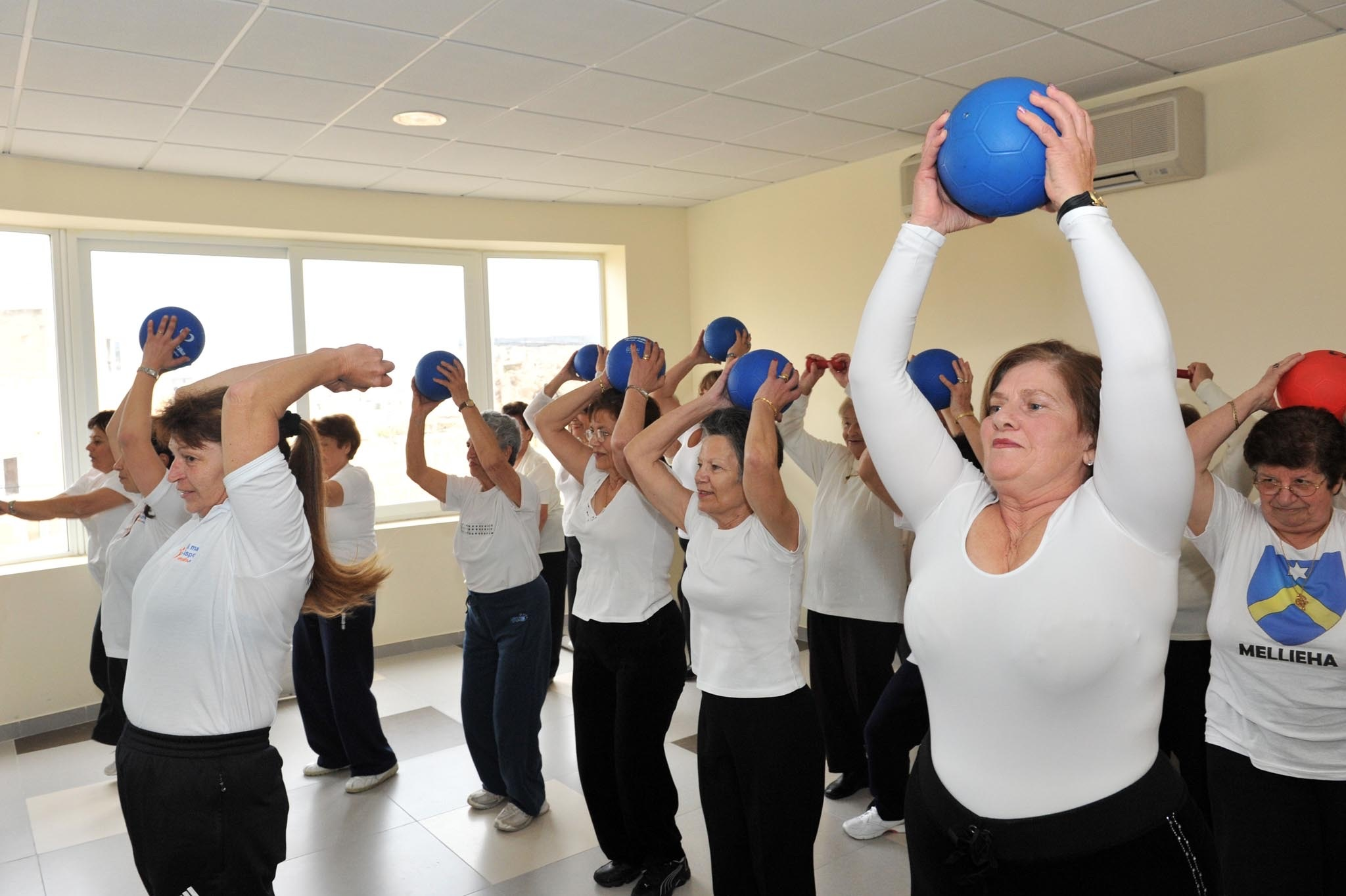 council, fitness classes, sports, elderly