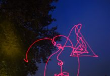 kinetic photograph taken with high shutter exposure