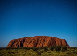 red centre of Australia, Australia, Nature, Rocks