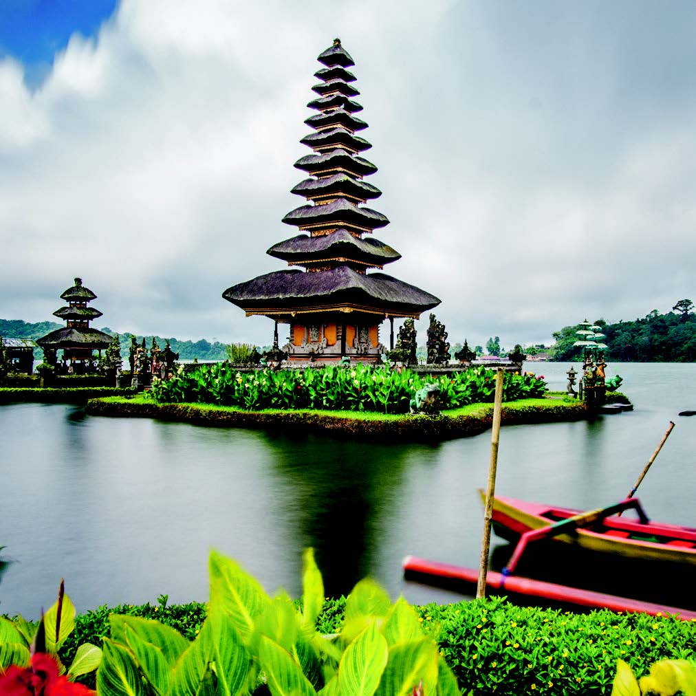 Ancient, Balinese Temples