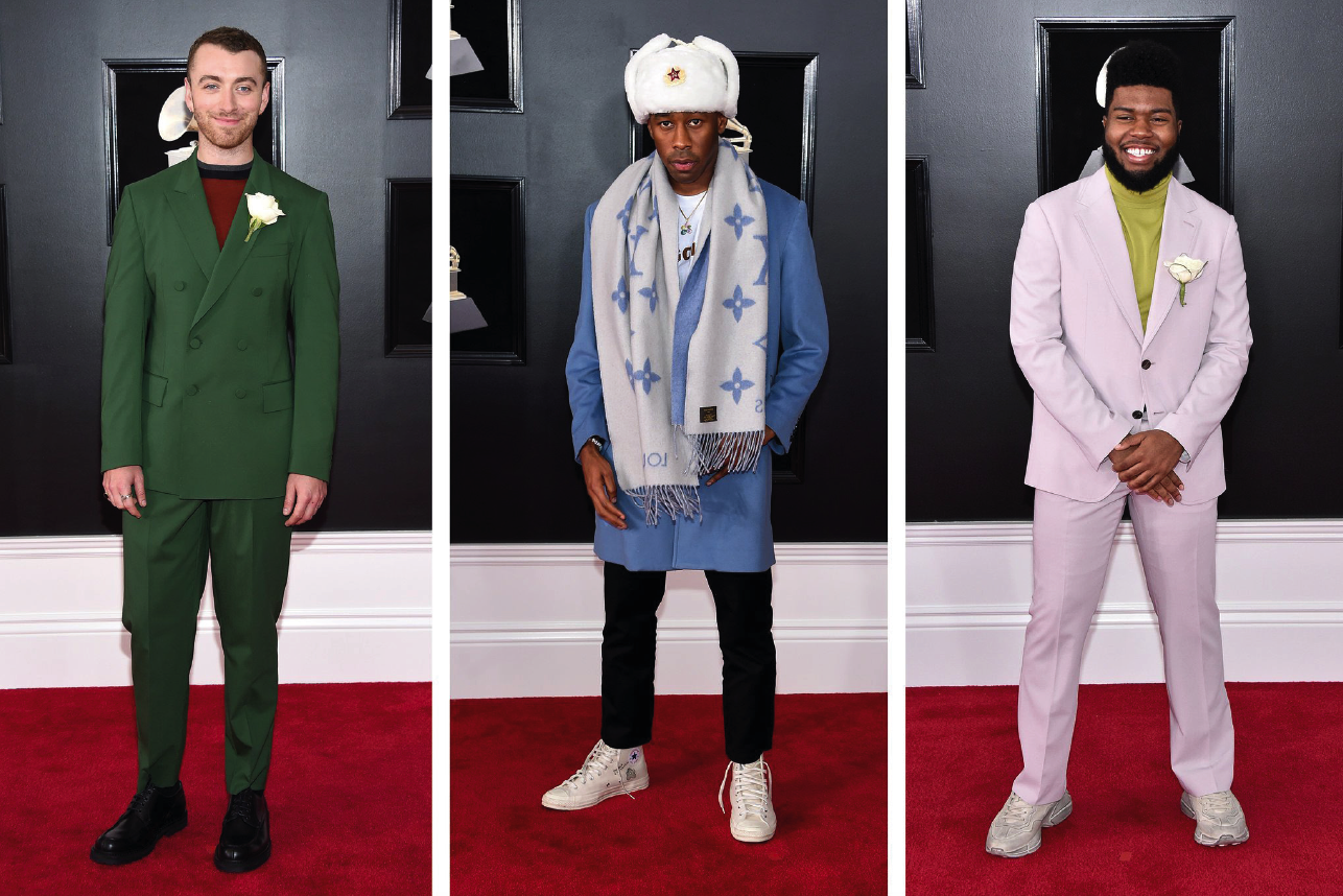 Sam Smith, Tyler the Creator, Khalid Grammys 2018