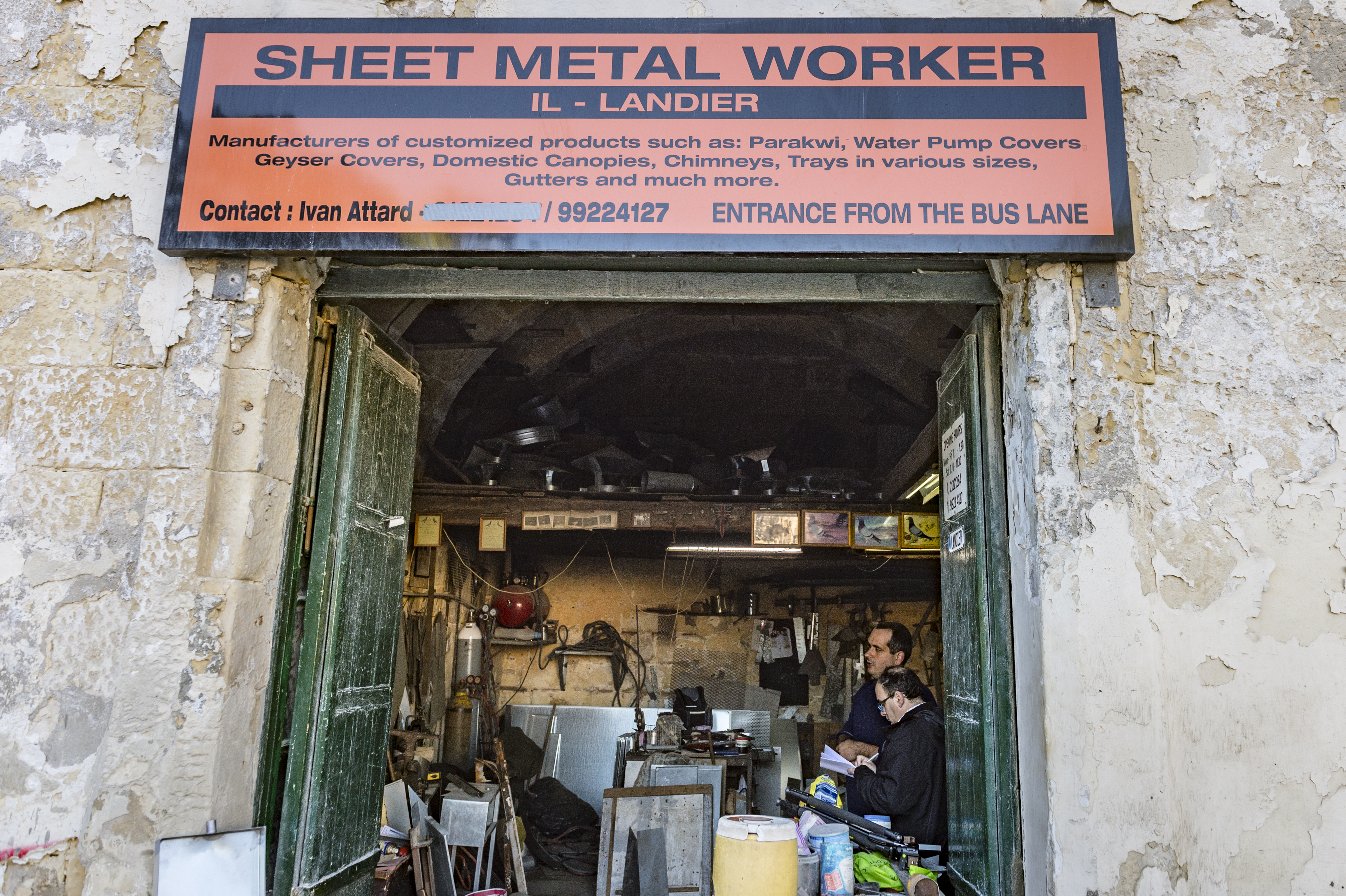 The Third Generation - Interview with Ivan Attard, Sheet Metal Worker