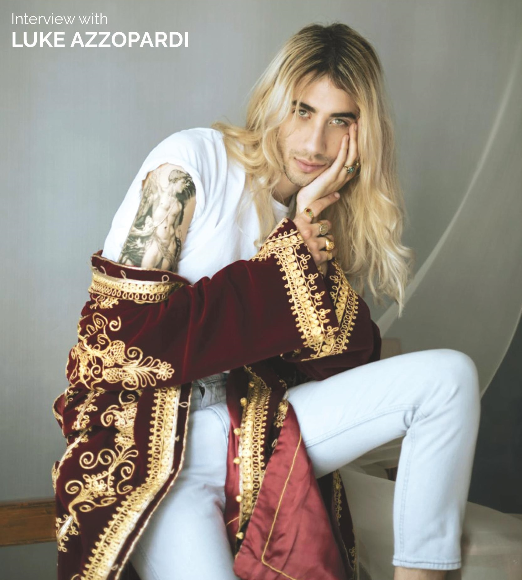 Luke Azzopardi interview fashion